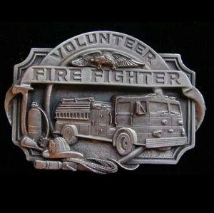 New volunteer firefighter belt buckle